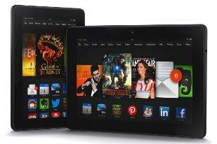 Amazon announces  Kindle Fire HDX tablets