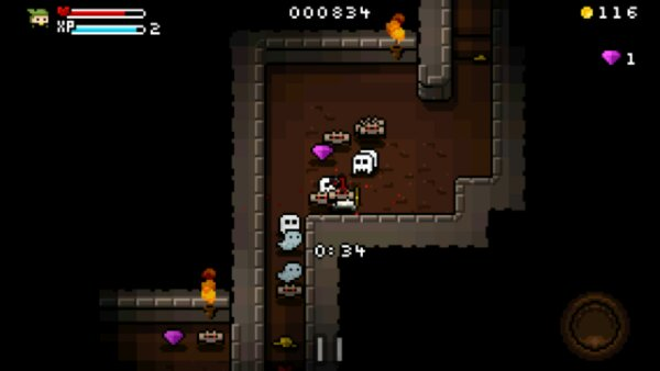 8 bit dungeon game Heroes of Loot is now available for Android and iOS