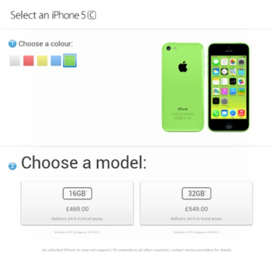 Today is the day to pre order an iPhone 5C