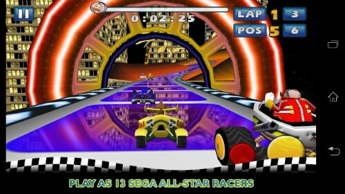 Sonic & Sega All Stars Racing now on Android