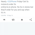 Tomorrow is iPhone Day, but O2 won't have any 5s handsets in store