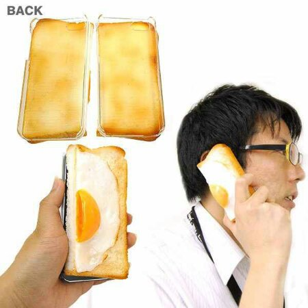 Stick some egg on toast next to your ear