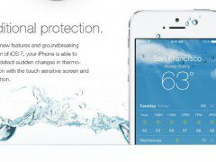 iOS 7 waterproofs your device.. erm...Not.