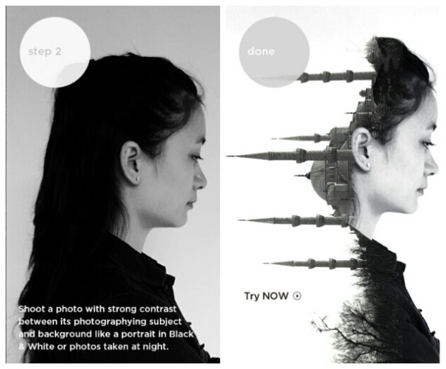 Camera360 for Windows Phone gets an interesting double exposure update
