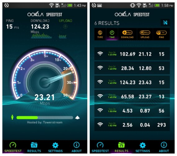 Speedtest for Android gets a rather snazzy looking update