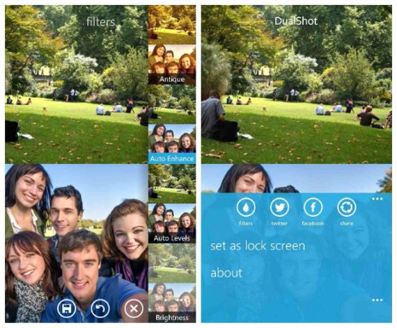 DualShot for Windows Phone is now available