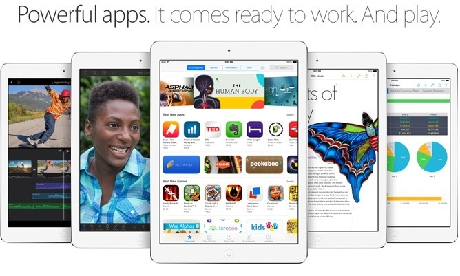 Apple announces the iPad Air