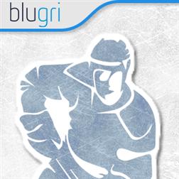 Blugri Air Hockey Logo