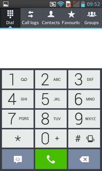 LG L7 Dialler