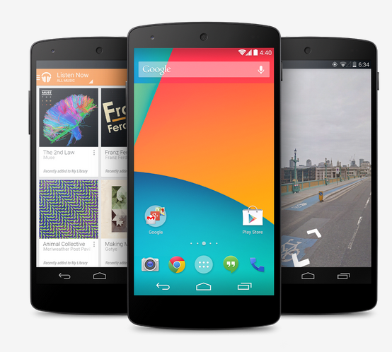 Google finally release the Nexus 5