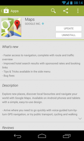 Google Maps Updated once more...