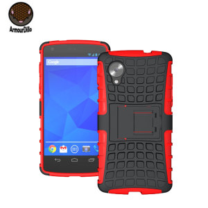 armourdillo hybrid protective case for google nexus 5 red p41629 300