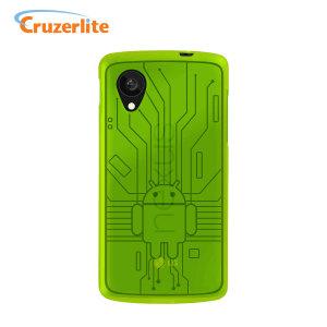 cruzerlite bugdroid circuit case for google nexus 5 green p41624 300