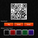 Create your own QR code, and update the content on the fly