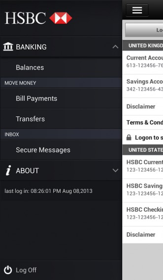 HSBC release mobile banking app