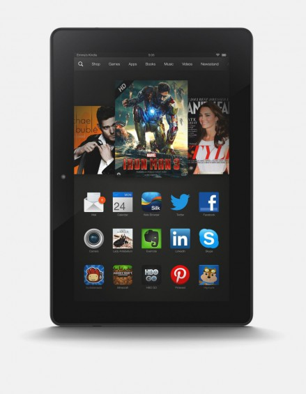 kindle fire hdx nb