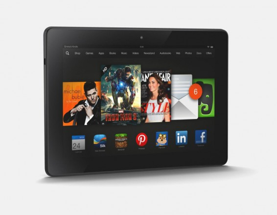 The Amazon Kindle Fire HDX arrives. More Oomph as standard