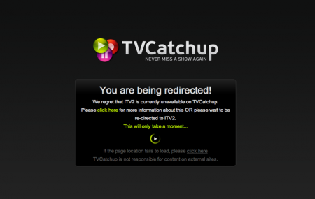 TVCatchUp app to change