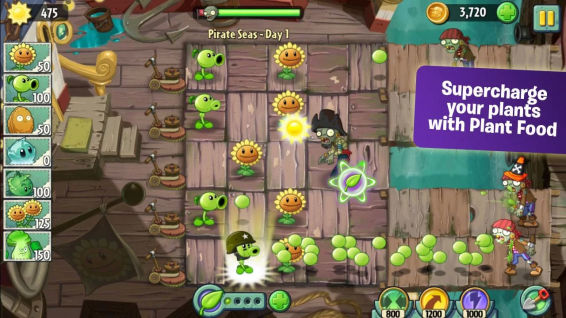 Plants vs Zombies 2 Now Available on Google Play