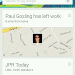 Google Search app updated – Automatically tells friends and family when you're leaving work