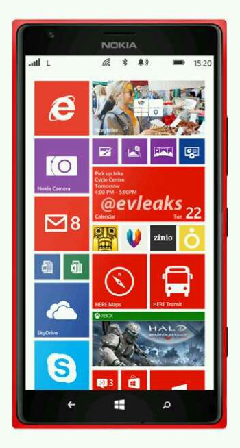 The Nokia Lumia 1520 sure looks like a bigun