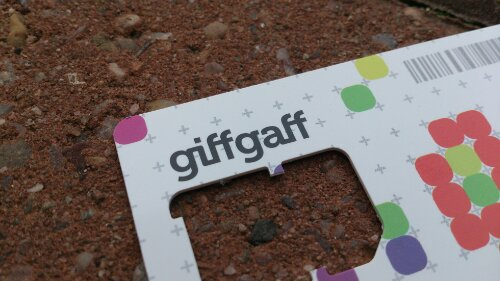 GiffGaff experience second failure in less than a week