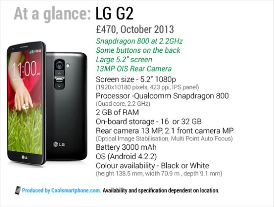 The LG G2 UK launch