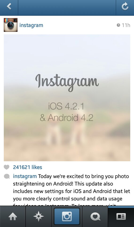 Instagram for Android soon to get an update to fix wonky pictures