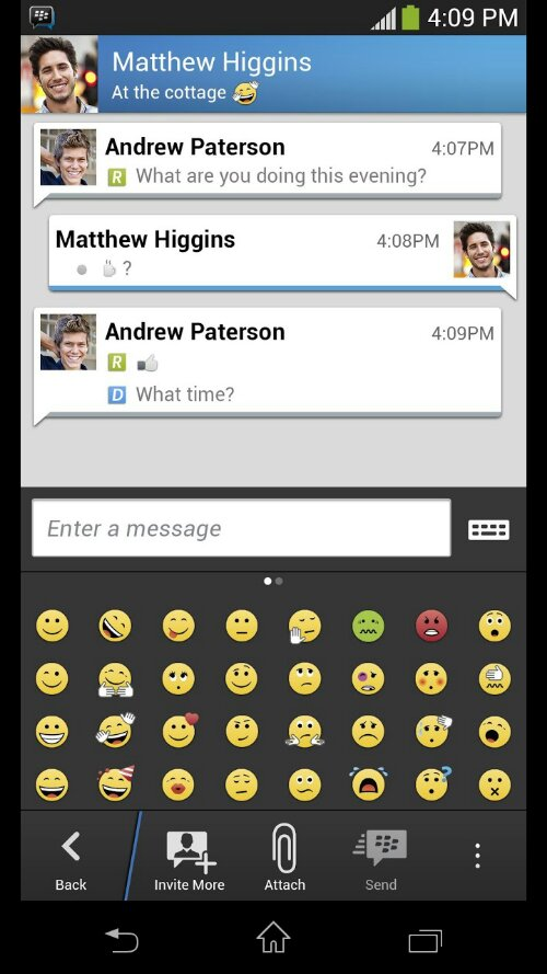 BBM arrives for Android and iPhone. World continues turning.