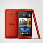 HTC baby, in red, is glancing at me.
