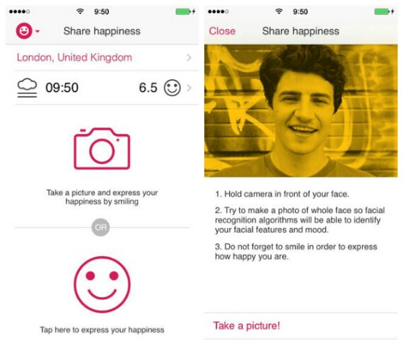 Are you happy? Theres an app for that!