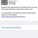 Apple pushes out iOS 7.0.4 update