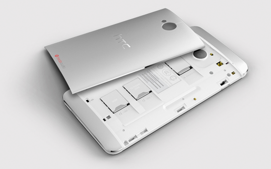 HTC One   Dual SIM version available, now with microSD card slot too!