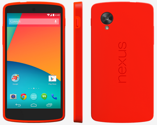 Official Nexus 5 bumper now on sale
