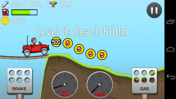 Hill Climb Racing   Android and iOS recommended app