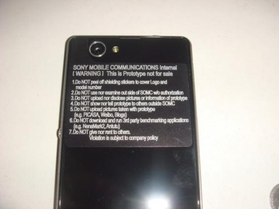 Sony Z1S Pictures Leak