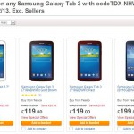 Samsung Galaxy Tab 3 – Now less than £100