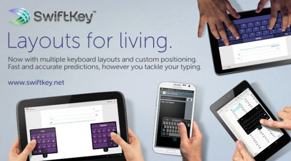 SwiftKey update brings new layouts and options
