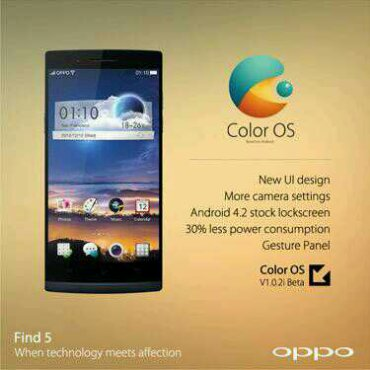 Oppo release the ColorOS ROM for the Find 5