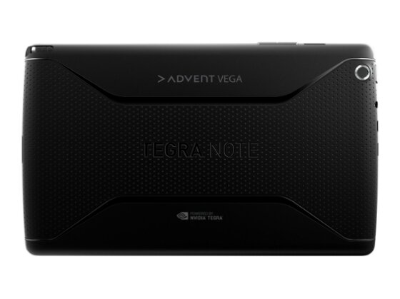 The Advent Vega Tegra Note is announced by PC World
