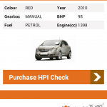 Official HPI Check available for iPhone and Android