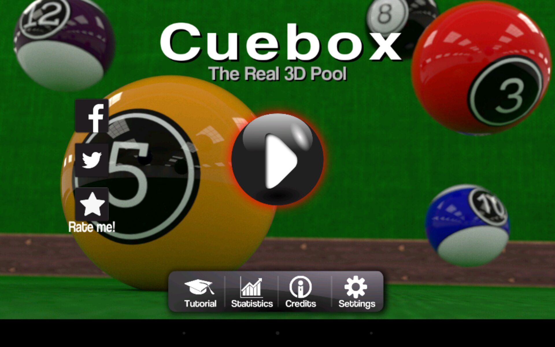 Cuebox 3D Pool Game Review