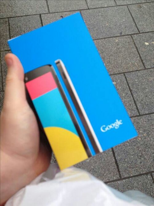 Hands on with the Nexus 5