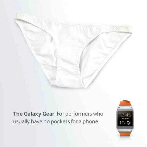 Samsung ad ends up being a bit pants