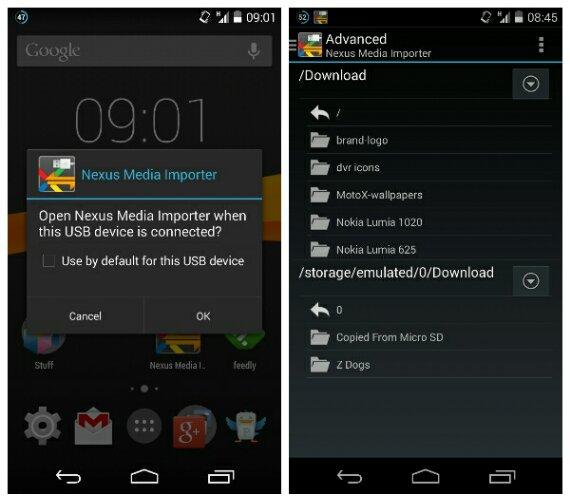 Nexus Media Importer gets an update to support the Nexus 5