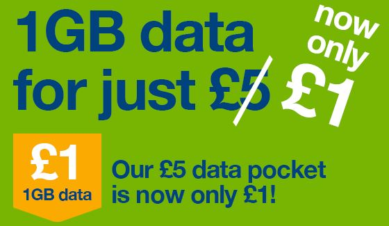 Vectone Mobile offering 1GB of data for.. £1!