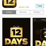 iTunes 12 days of Xmas
