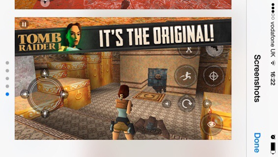 Tomb Raider for iOS drops to 69p