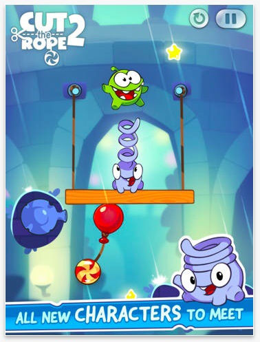 Cut The Rope 2 comes to iOS