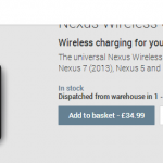 Nexus Wireless Charger Now Available in the UK Play Store